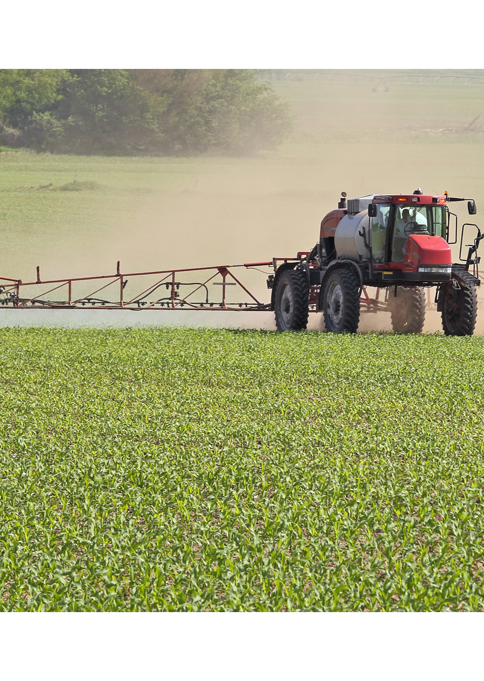 GGB agricultural bearings selected for use in the folding boom pivots of self-propelled sprayers