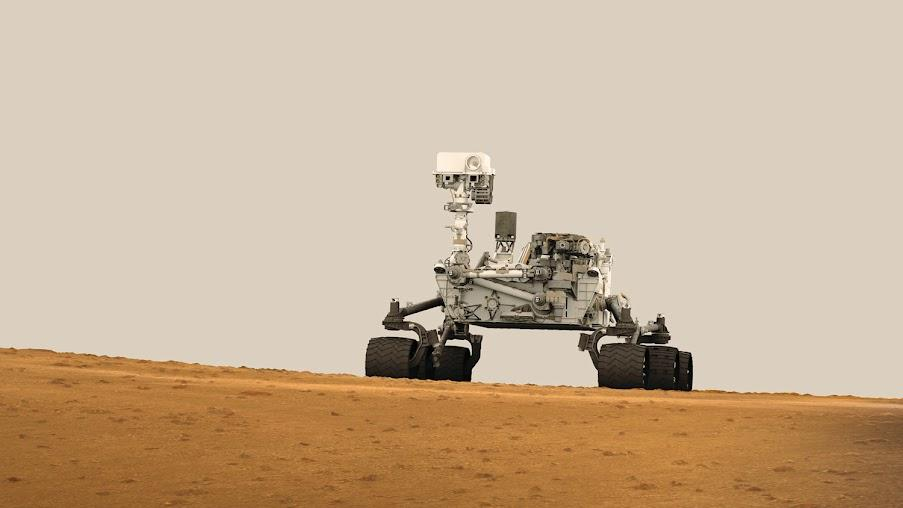 GGB PTFE plain bearings are mounted on curiosity, the mars rover developed by NASA