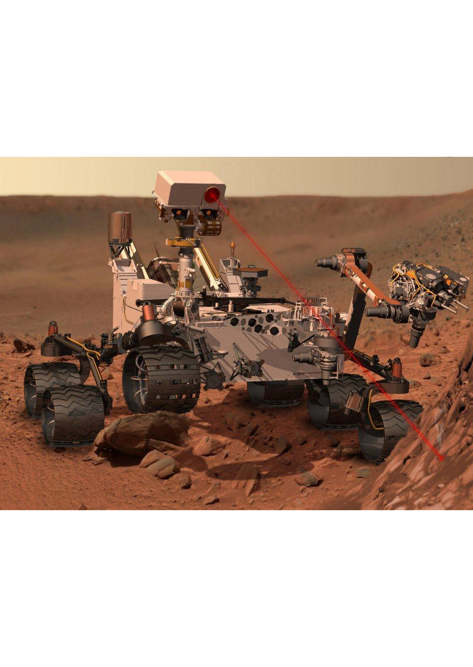 GGB PTFE plain bearings on mars thanks to their durable nature