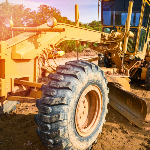 GGB self-lubricating bearings for motor graders applications