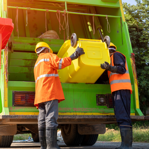 GGB Fiber Reinforced Composite Solution for Trash Truck Applications