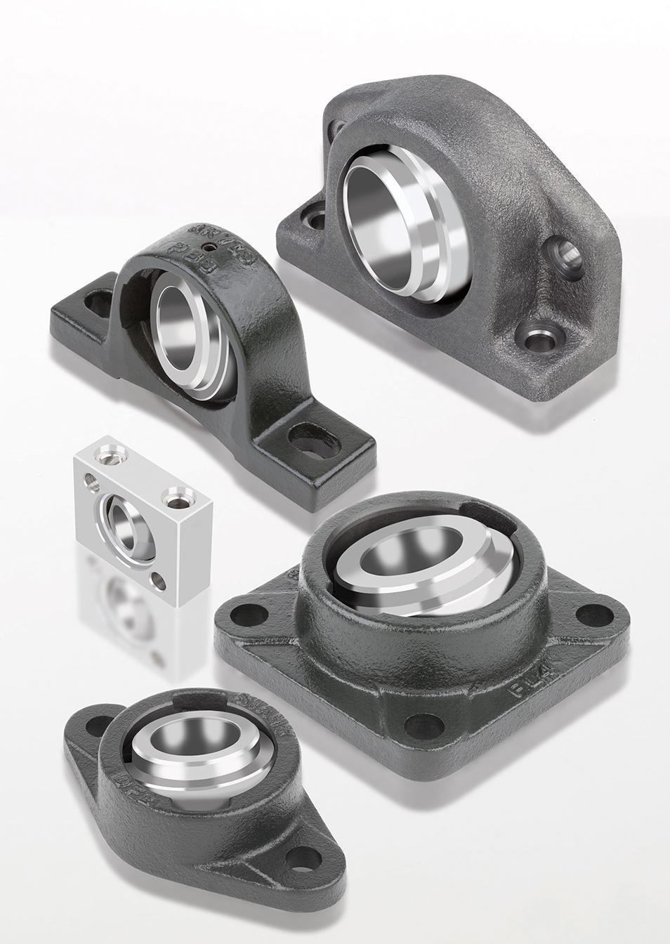 GGB Bearing Assemblies with UNI & EXALIGN