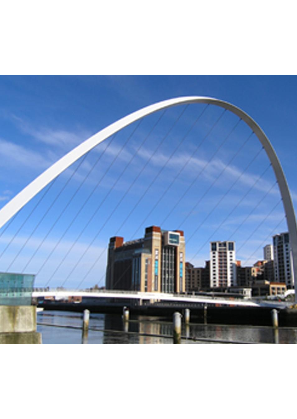 GGB Bearings in Gateshead Millennium Bridge pivot points