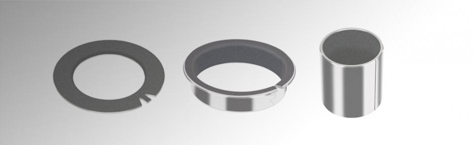 GGB DU friction plain bearings selected by BESTEC GmbH for vacuum system cover applications