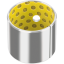 GGB DX plain bearings and DX cylindrical metal-polymer bushes