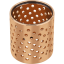 GGB LDD Perforated bronze bearings and bushings to increase lubrication intervals