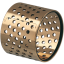GGB LDD Perforated cylindrical bronze bearings and bushings