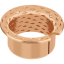 GGB MBZ-B09 solid bronze flanged bearings