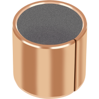 GGB DU-B dry plain bearings with bronze backing and metal polymer composite materials