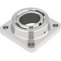 GGB EXALIGN-FL Self-aligning flange bearing assembly and housing with GGB DU