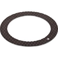 GGB HI-EX high-temperature lubricated metal polymer thrust washer for hydrodynamic bearing applications