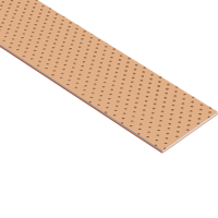 GGB SY Bimetallic bronze sliding plate with steel backing