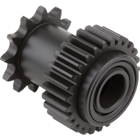 Special gear coated with GGB triboshield TS161 self-lubricating polymer coatings