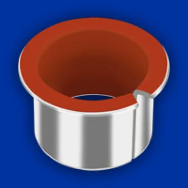 GGB's DP4 and DP4-B lead-free plain bushings launched in 1995