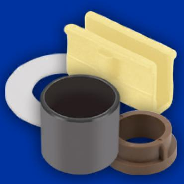 GGB's Injection-molded, thermoplastic solid polymer EP bearings launched in 1996