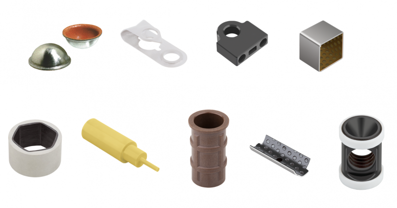 GGB Bearing Materials can be customized to special shapes
