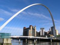 Gateshead Millennium Bridge pivots on 4 GGB self-aligning bearings