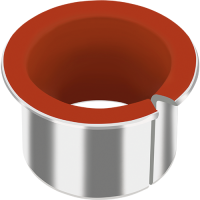 GGB DP4 metal-polymer flanged bearings for aircraft interiors