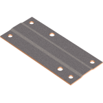 DU-B dry bearings with bronze backing are available as special sliding plates