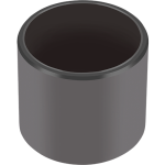 GGB EP self-lubricating engineered plastic plain bearings